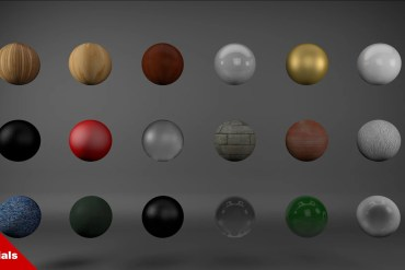 free cinema 4d materials pack