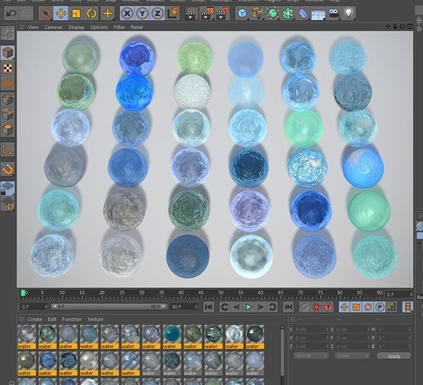 Free Cinema 4D Liquid Materials  Free Cinema 4D Textures