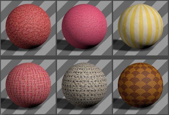 Fabric Textures 08 - Free Cinema 4D Textures