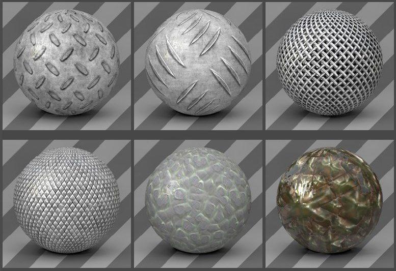 free cinema 4d textures -metal textures 06