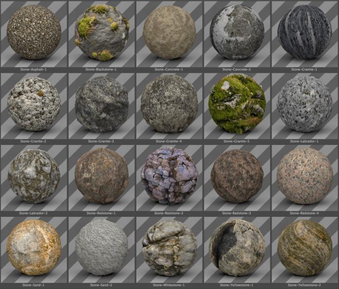 free cinema 4d stone texture pack