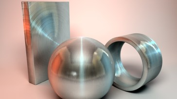 Free Brushed Steel Metal Texture For Cinema 4D