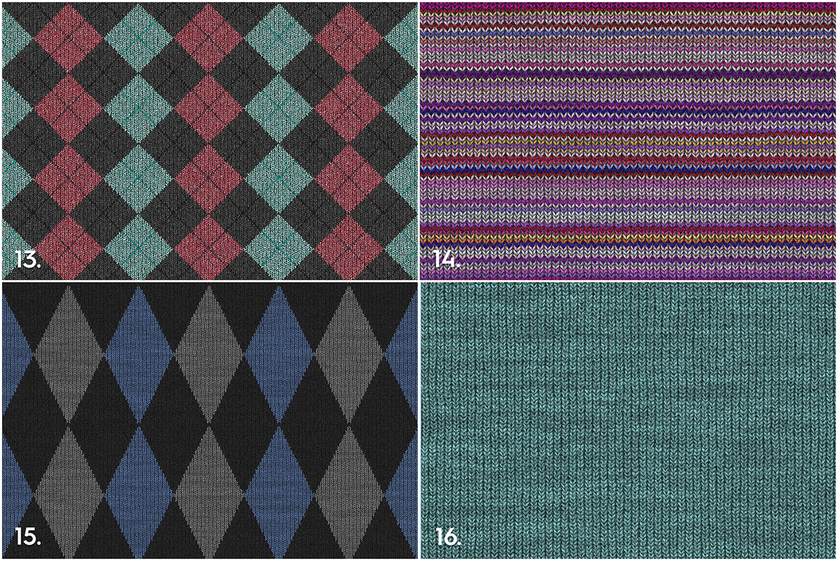 20 Knitted Weaving Textures