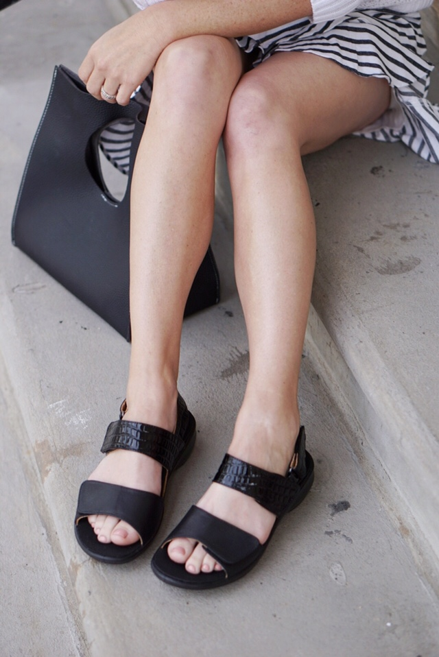 the sandals you need, black sandals, revere shoes, comfortable footwear, classic sandals