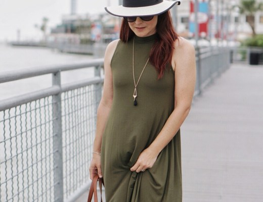 Kemah, Texas, swing dresses, olive green, minimalist, styling with neutrals