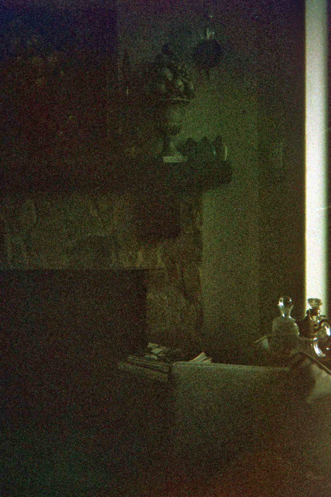 unedited photography, disposable camera, fireplace