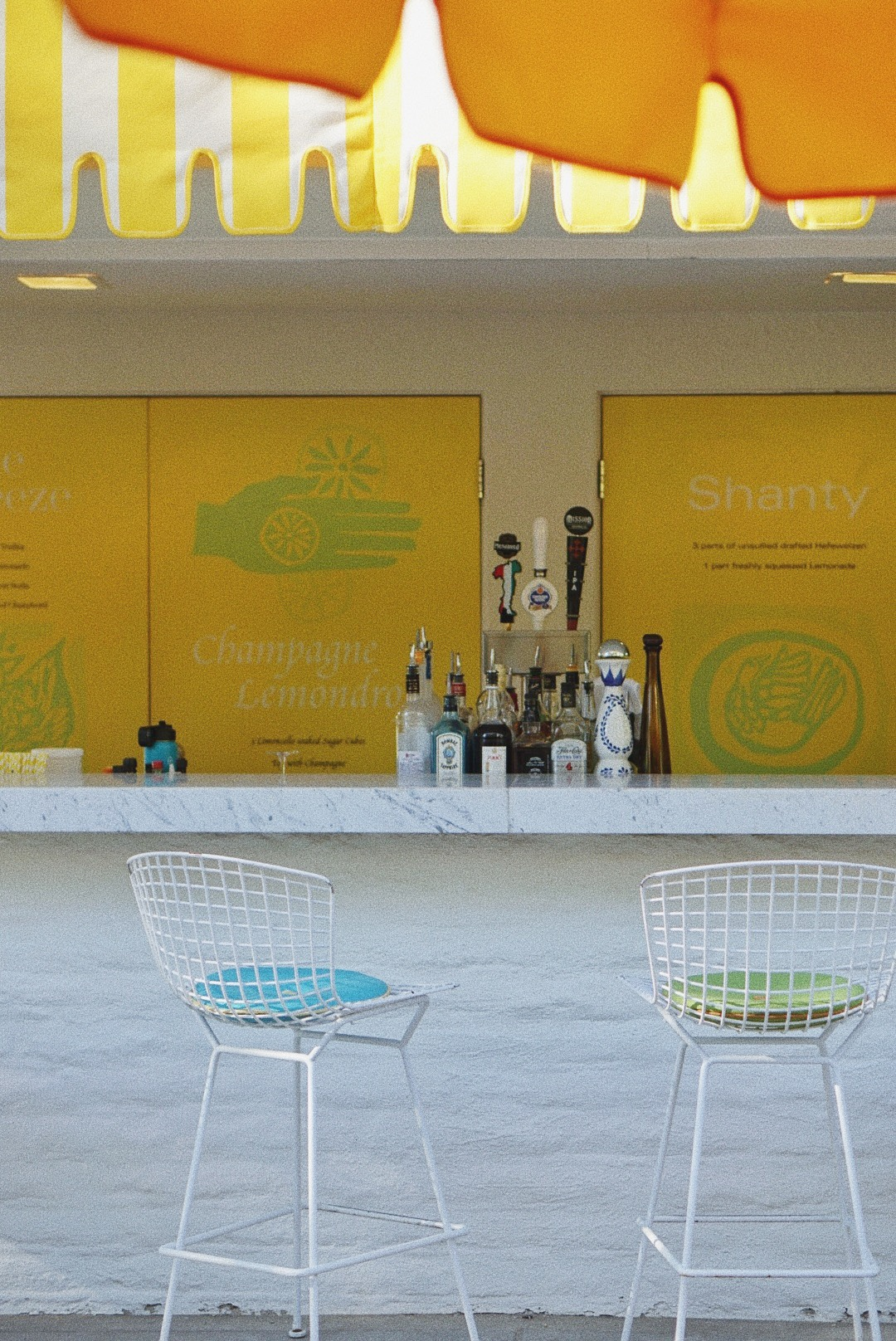 The Parker Hotel, Palm Springs, Lemonade Stands, where to stay in Palm Springs