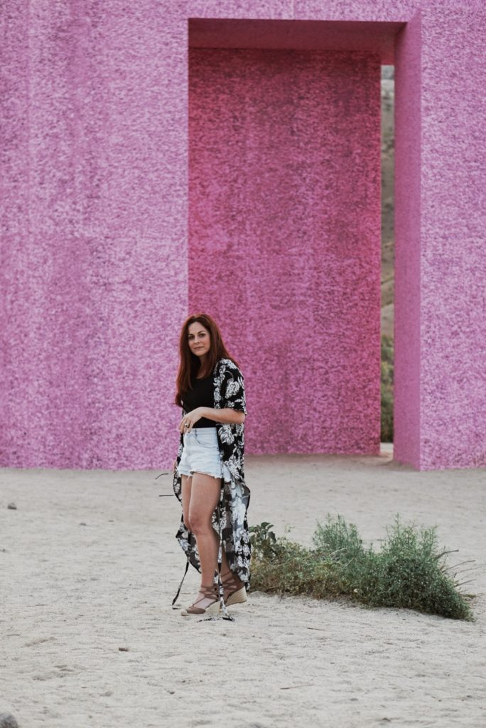 style ideas for summer, kimono outfits, places to go in Palm Springs