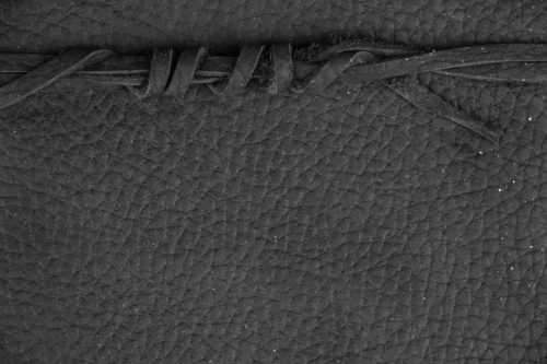 black leather texture dark