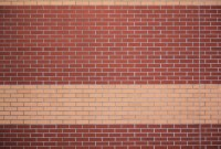 brick texture wall red yellow stripe pattern wallpaper