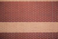brick texture wall red yellow stripe pattern wallpaper ...