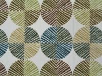 fabric texture brown circle pattern retro vintage design ...