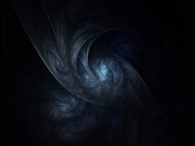 fractal texture dark web abstract nether world abyss blue ...