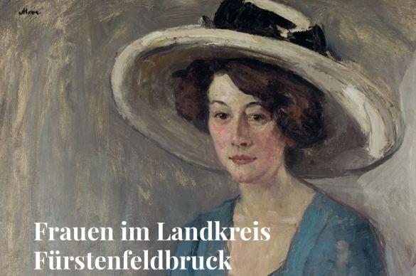 Frauen im Landkreis Fürstenfeldbruck, Erna Voll, portraitiert von Henrik Moor