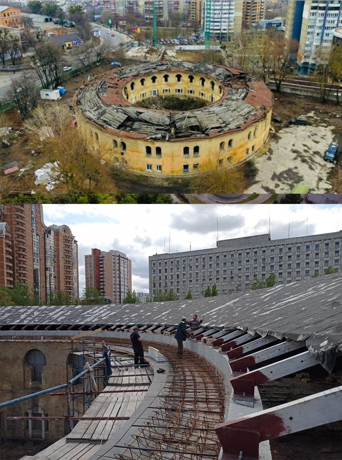 Четверта вежа фортеці міститься у так званому Царському селі – за будівлею Київської облради та ЦВК, поряд із дорогими печерськими житловими новобудовами. Сьогодні тут відновлюють аварійний дах, що майже розвалився