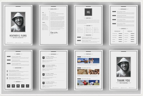 professional references resume template