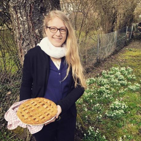Veganer Apple Pie