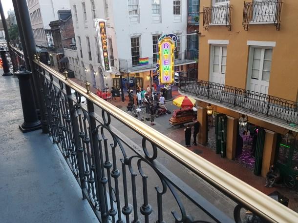 Bild mit Balkon