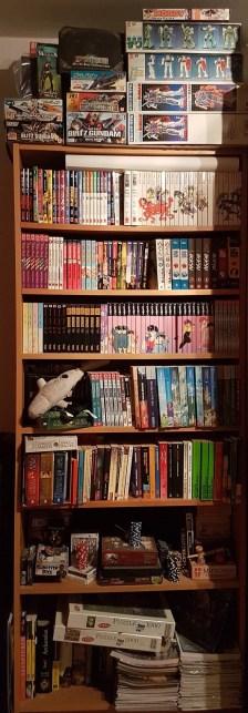 Manga, Bücher, Spiele und Guuundams