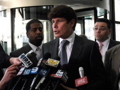 Rod Blagojevich Corruption Trial Press Conference - Chicago, IL