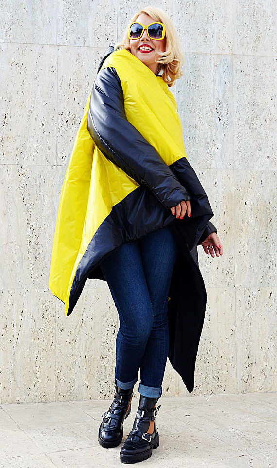black and yellow jacket