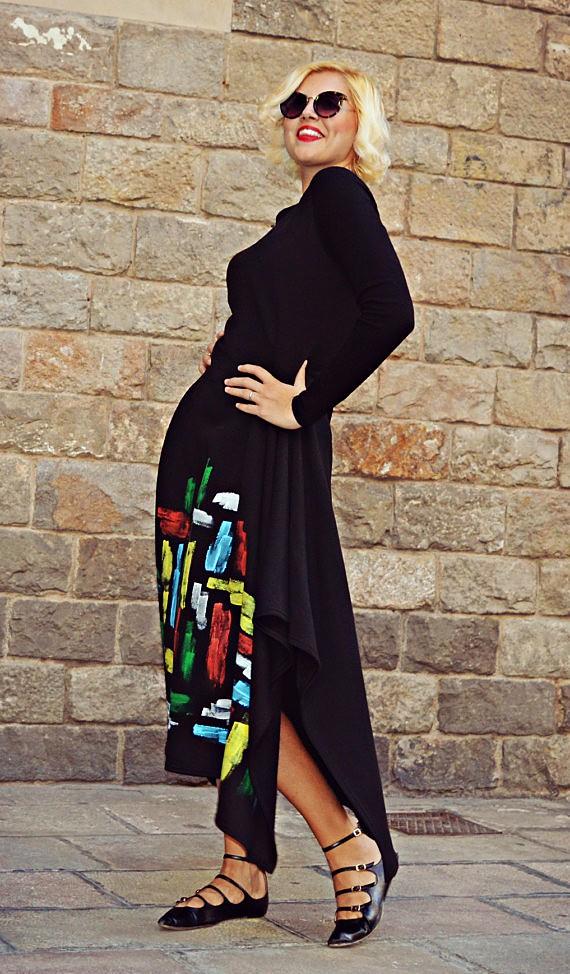 funky asymmetrical dress