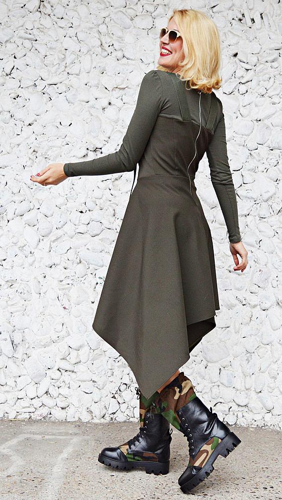 cool army dress