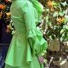 cotton ruffled dress