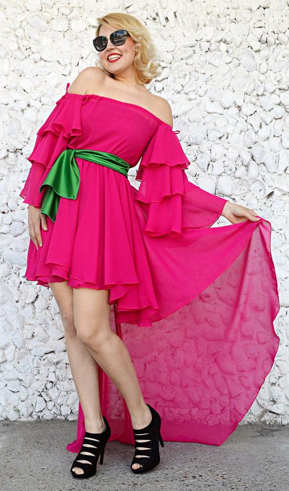 cocktail pink dress