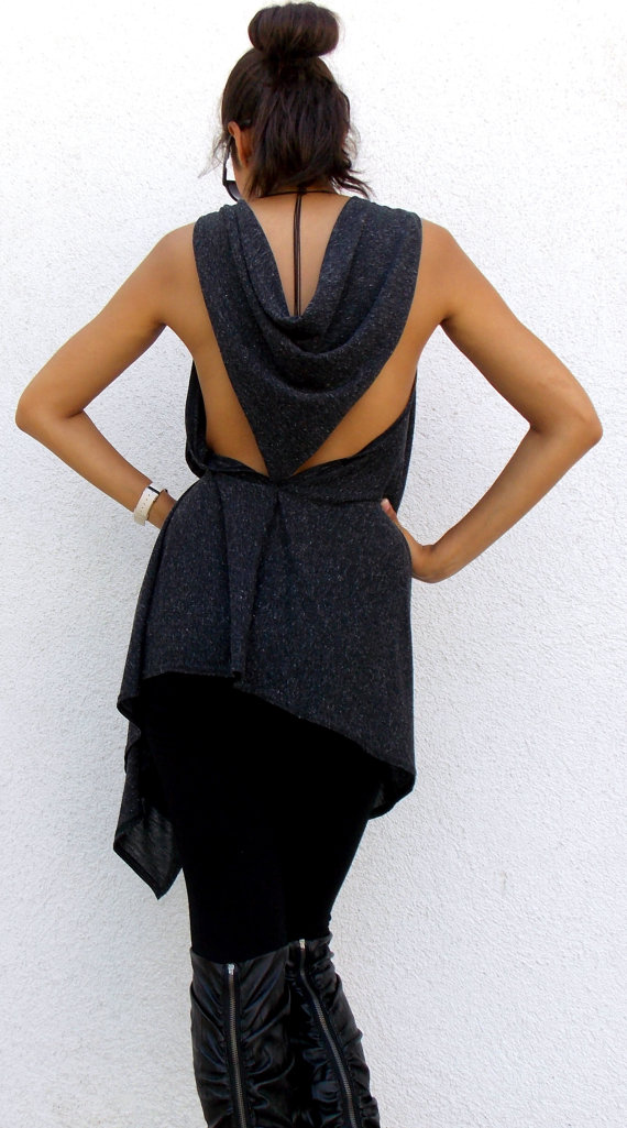 anthracite backless top