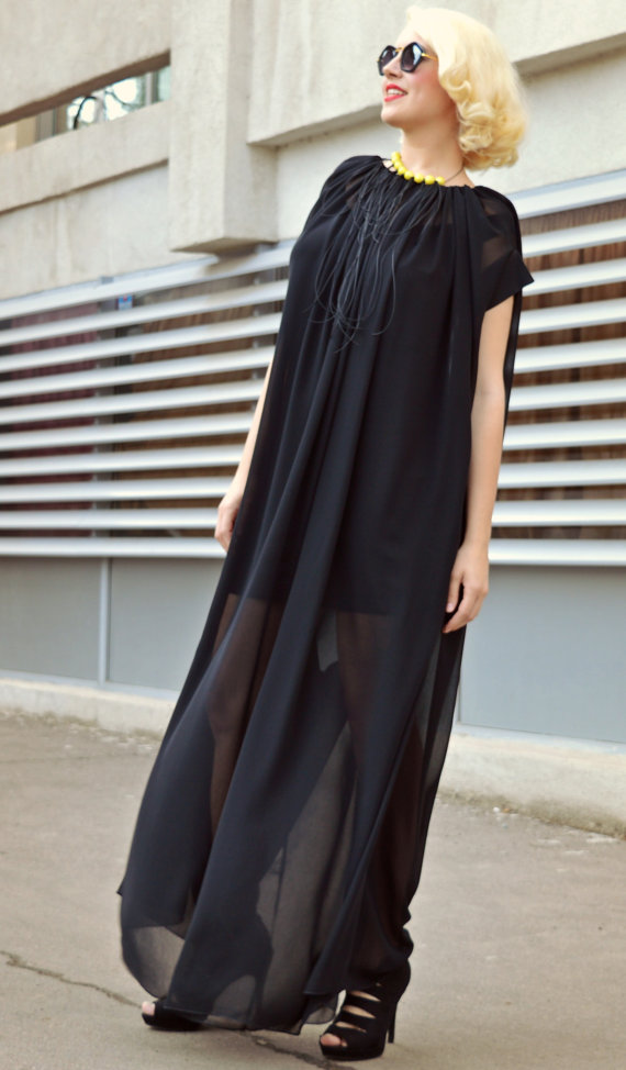 loose black jumpsuit