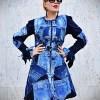 denim outerwear coat