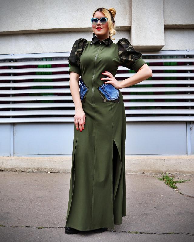 long army dress