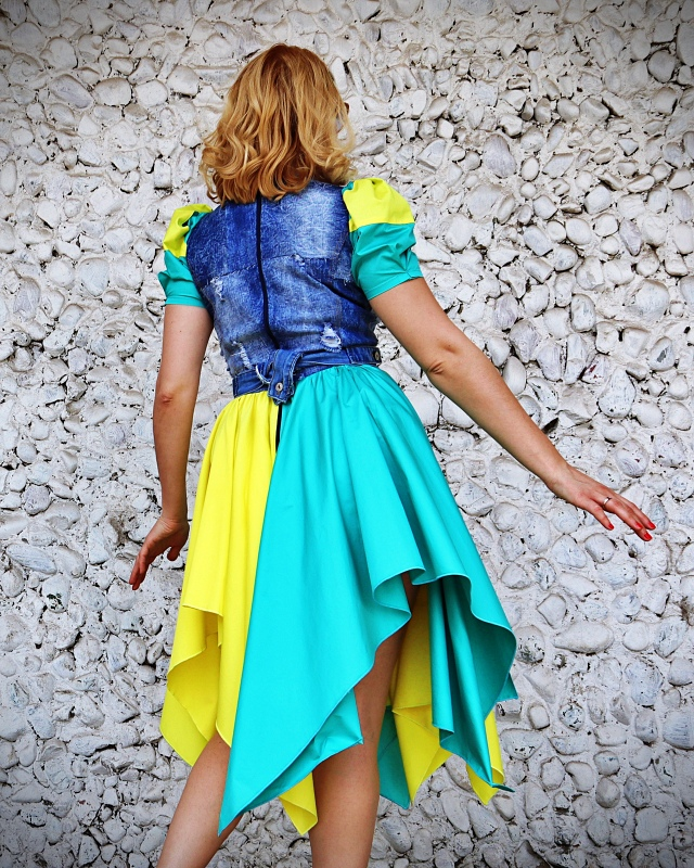 summer colorful dress
