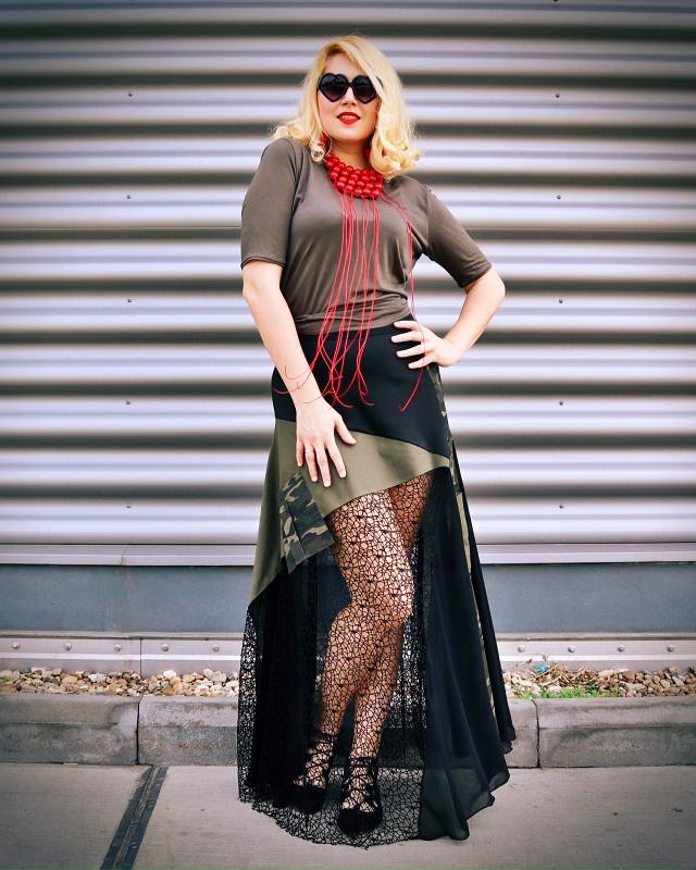 patchwork skirts