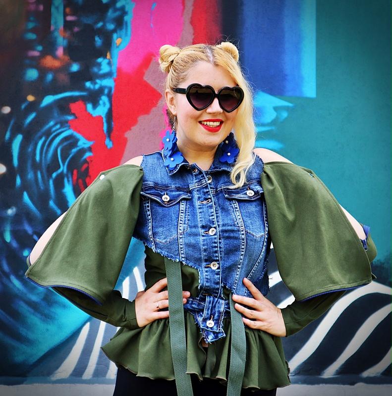 denim hipster jacket
