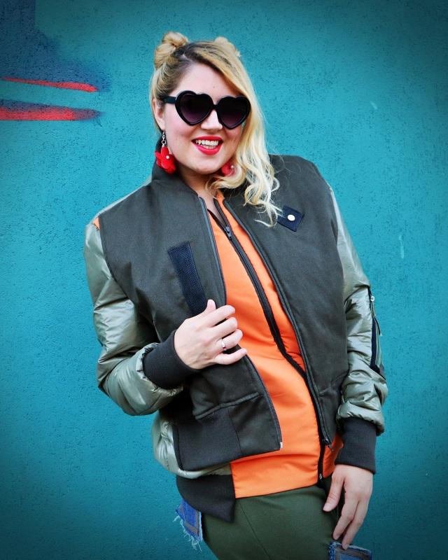 multi-fabric jacket