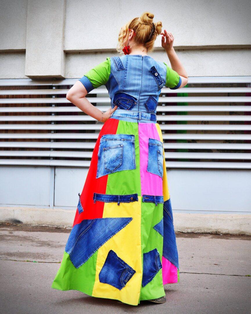 grunge rocker dress