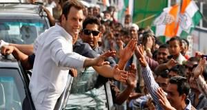 Rahul Gandhi road show Varanasi