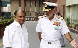 यूपीए सरकार पर जमकर बरसे पूर्व नौसेना प्रमुख,इस्तीफे को लेकर थे आश्चर्यचकित