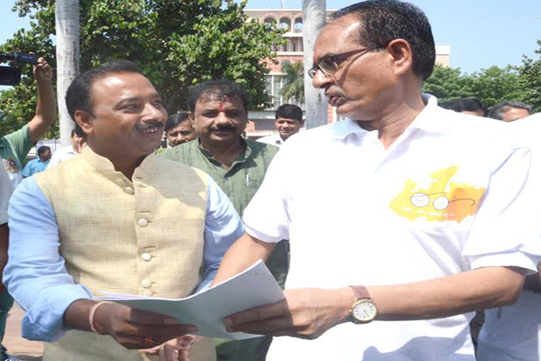 Memorandum submitted to Chief Minister Shivraj Singh