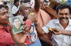 जयललिता पांचवी बार तमिलनाडु की मुख्यमंत्री