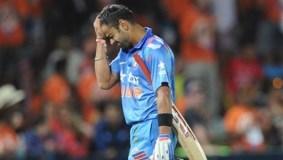 भारतीय बल्लेबाजों ने किया निराश,सेमी फाइनल हारे
