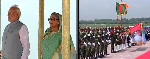Dhaka, Prime Minister Sheikh Hasina, a guard of honor, tweet