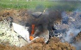 एयरफोर्स का जगुआर फाइटर प्लेन दुर्घटनाग्रस्त