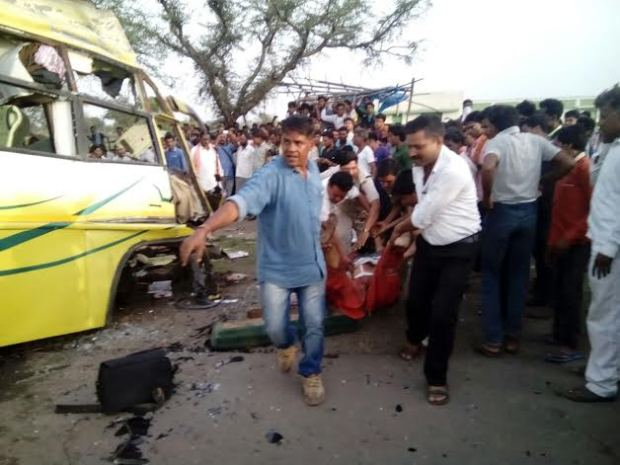 23 killed in horrific road accident