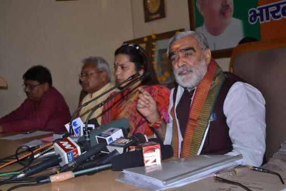 Uttar Pradesh is no law not order  BJP