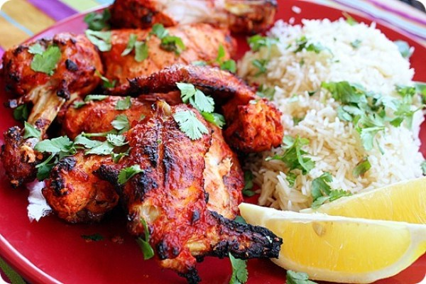 Tandoori-Chicken meat