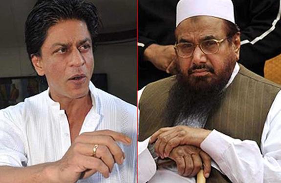 shahrukh khan and hafiz saeed