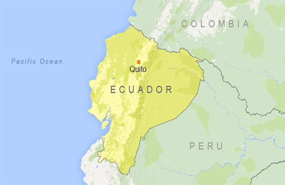 Ecuador army plane crashes